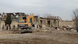 Azerbaijan restoring houses destroyed as a result of Armenia's aggression in Ganja (PHOTO) - Gallery Thumbnail
