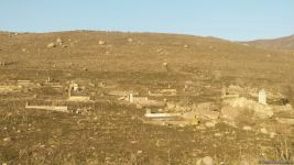 Footage of cemetery destroyed by the Armenians in Azerbaijani village of Saray, Gubadly region (PHOTO) - Gallery Thumbnail