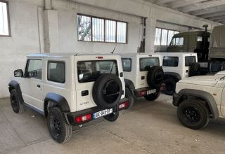 Georgian border police receives troop carriers, fuel trucks, off-road vehicles from US