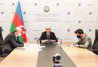 В Азербайджане обсуждены проекты в области использования возобновляемых источников энергии (ФОТО)