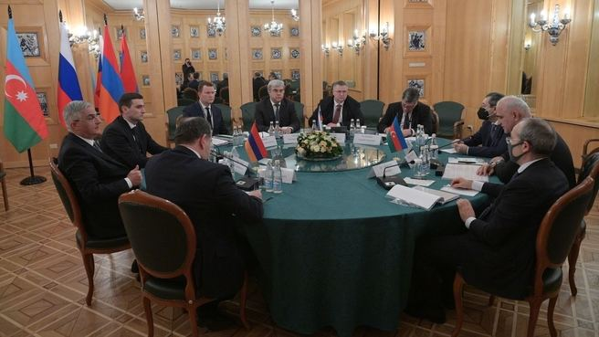 First meeting of the Azerbaijan, Russia, Armenia trilateral working group held