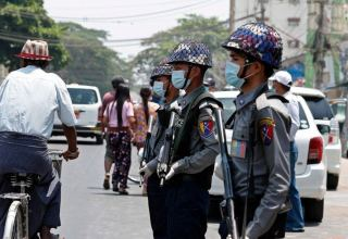 Myanmar police issue arrest warrants for celebrities for endorsing strike movement