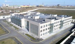 Azerbaijani president, first lady inaugurate new building of Absheron District Central Hospital (PHOTO) - Gallery Thumbnail