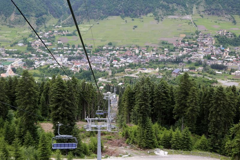 Georgia allocates funds for construction works of cable cars in Mestia