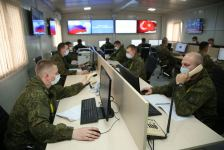 Turkish, Russian servicemen taking all measures to monitor ceasefire compliance (PHOTO) - Gallery Thumbnail