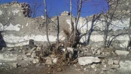 Foreign diplomats view Armenian-destroyed culture house in Azerbaijan's Jabrayil (PHOTO/VIDEO) - Gallery Thumbnail