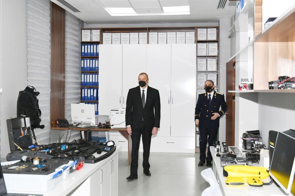 Президент Ильхам Алиев принял участие в открытии нового комплекса  административного здания Генеральной прокуратуры (ФОТО/ВИДЕО) - Gallery Image