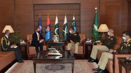 Pakistan to multiply efforts for further strengthening of Azerbaijani army - Pakistani General (PHOTO) - Gallery Thumbnail
