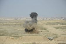 Azerbaijan carries out mine clearance using Turkish-made equipment (PHOTO/VIDEO) - Gallery Thumbnail