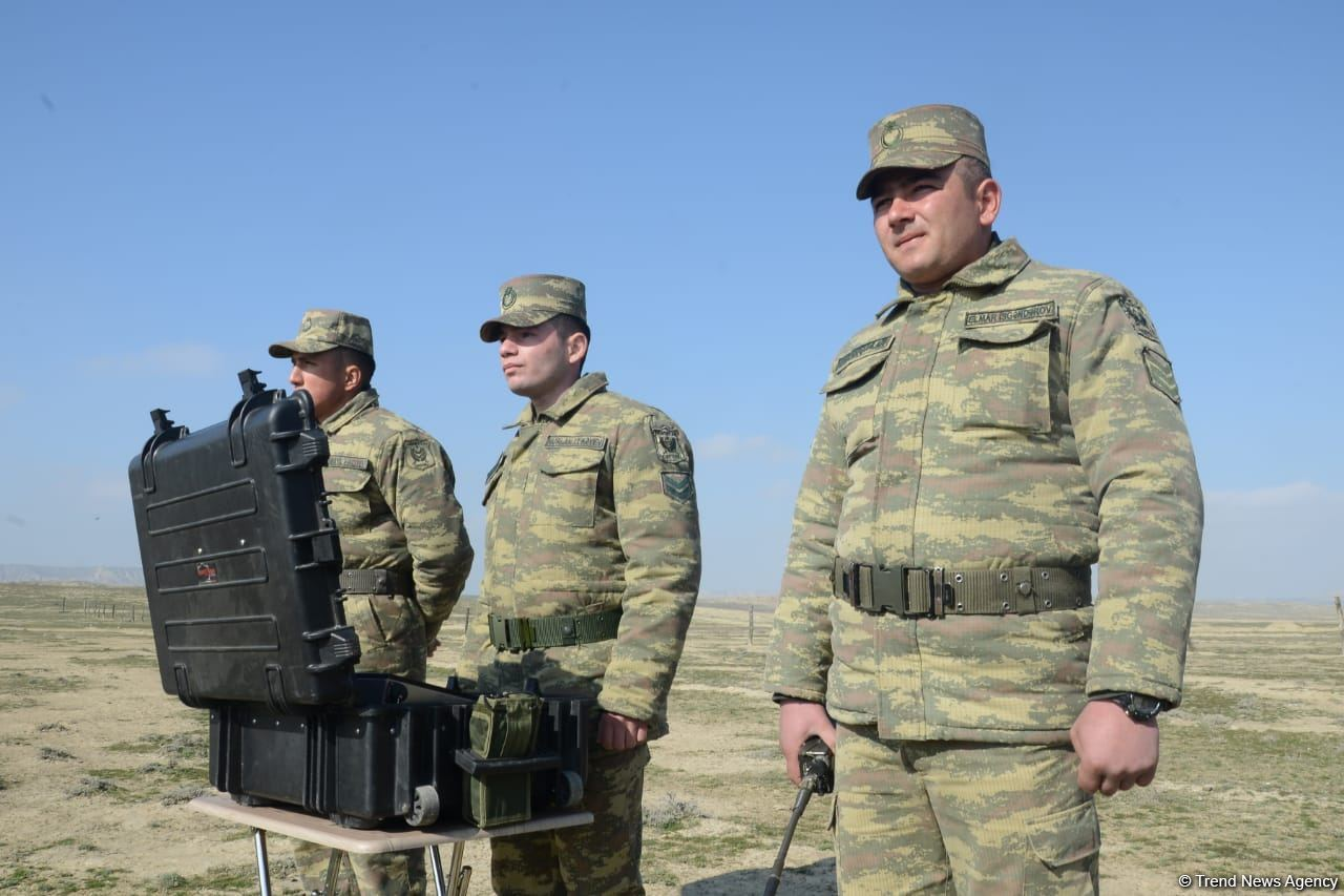 Demining equipment from Turkey soon to be used in Azerbaijan's liberated lands (PHOTO) - Gallery Image