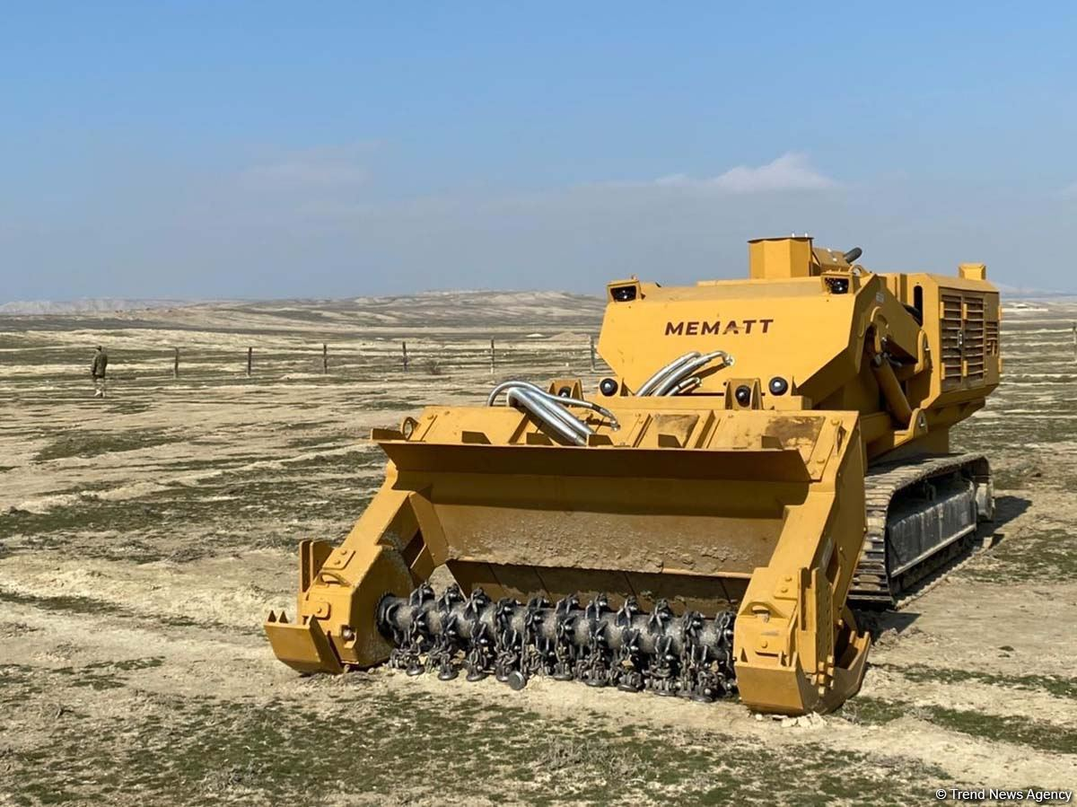 Demining equipment from Turkey soon to be used in Azerbaijan's liberated lands (PHOTO)