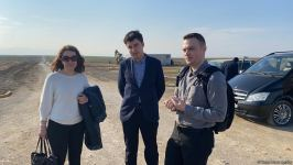 Azerbaijani, foreign journalists visit Turkish-Russian Monitoring Center in Aghdam (PHOTO/VIDEO) - Gallery Thumbnail
