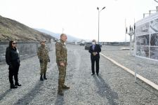 Azerbaijani president inaugurates Gulabird hydropower plant in Lachin (PHOTO) - Gallery Thumbnail