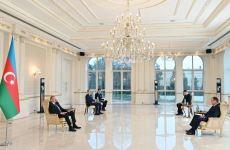 Azərbaycan Prezidenti Belarusun yeni təyin olunmuş səfirinin etimadnaməsini qəbul edib (FOTO/VİDEO) (YENİLƏNİB) - Gallery Thumbnail