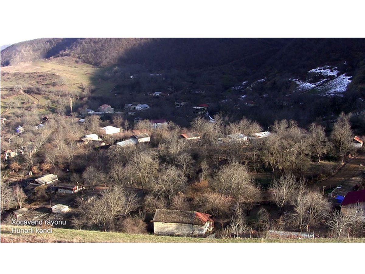 Xocavənd rayonunun Hünərli kəndi (FOTO/VİDEO)