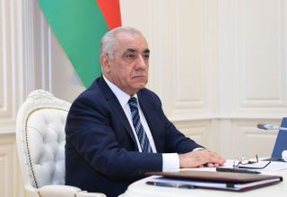 Azerbaijani PM expresses condolences to Russian counterpart