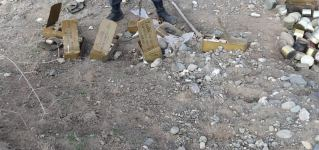 Azerbaijani police forces found ordnances left by Armenians in Aghdam (PHOTO) - Gallery Thumbnail