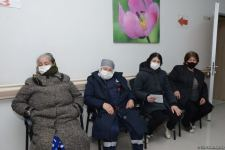 COVID-19 vaccination continues in Azerbaijan - photo report from hospitals (PHOTO) - Gallery Thumbnail