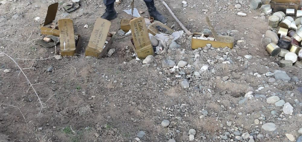 Azerbaijani police forces found ordnances left by Armenians in Aghdam (PHOTO) - Gallery Image