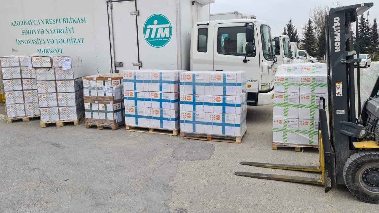 UNFPA направил помощь медперсоналу регионов Азербайджана, пострадавших от войны (ФОТО) - Gallery Image