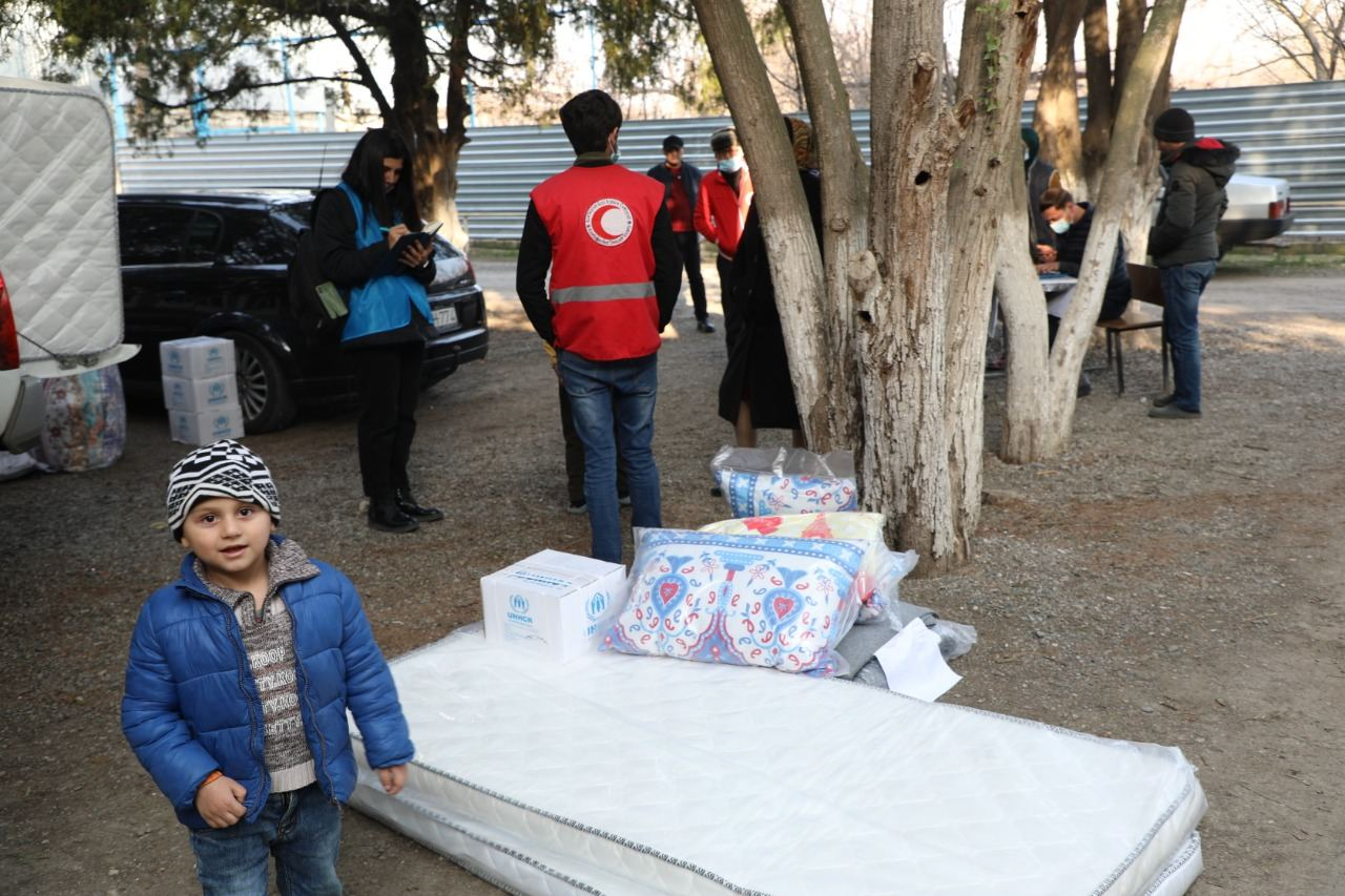 UN, Azerbaijan Red Crescent Society send humanitarian aid to conflict-affected persons in Tartar - Gallery Image