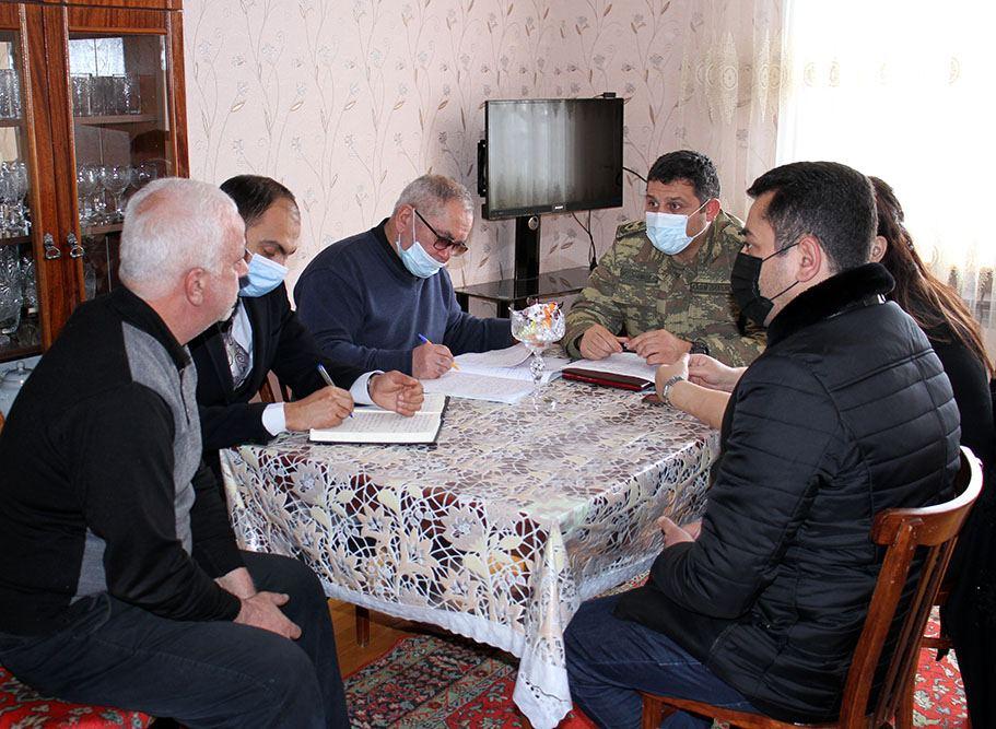 Семьям шехидов и пропавших без вести в Отечественной войне Азербайджана оказывается социально-психологическая поддержка (ФОТО)