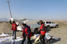 UN, Azerbaijan Red Crescent Society send humanitarian aid to conflict-affected persons in Tartar - Gallery Thumbnail
