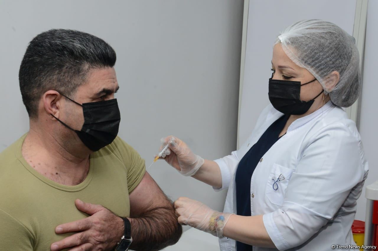 Azerbaijan starts vaccination of State Border Service employees (PHOTO/VIDEO) - Gallery Image