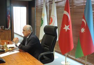 Азербайджанская делегация побывала в офисе TANAP в Анкаре (ФОТО)