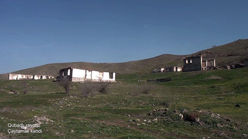 Qubadlı rayonunun Çaytumas kəndi (FOTO/VİDEO) - Gallery Image
