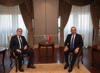 Foreign ministers of Azerbaijan and Turkey hold meeting (PHOTO) - Gallery Thumbnail
