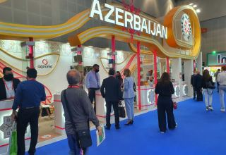 Visitors show great interest in Azerbaijani products at Gulfood 2021 exhibition (PHOTO)