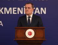Turkish, Azerbaijani, and Turkmen FMs adopt joint statement following trilateral meeting (PHOTO) - Gallery Thumbnail