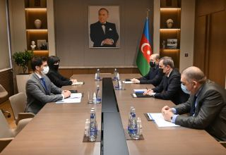 Azerbaijani FM, Israeli ambassador discuss prospects for development of bilateral co-op (PHOTO)