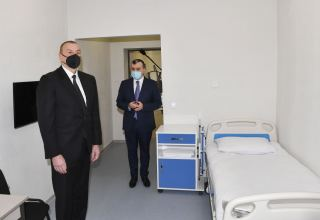 President Ilham Aliyev attends opening of Shaghan Rehabilitation Pension (PHOTO)