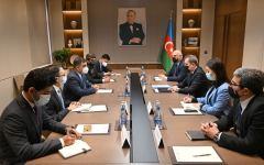 Azerbaijani FM receives Pakistani FWO's Director General (PHOTO) - Gallery Thumbnail