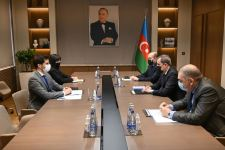 Azerbaijani FM, Israeli ambassador discuss prospects for development of bilateral co-op (PHOTO) - Gallery Thumbnail