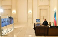 Azerbaijani president receives Signify representatives via video format (PHOTO) - Gallery Thumbnail