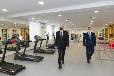 President Ilham Aliyev attends opening of Shaghan Rehabilitation Pension (PHOTO) - Gallery Thumbnail