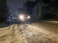 Bakı yolları səhərə kimi qardan təmizlənib - İcra hakimiyyəti (FOTO/VİDEO) - Gallery Thumbnail