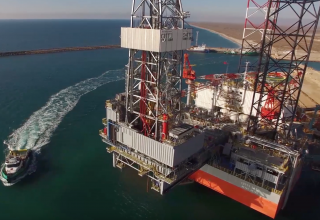 Kazakhstan, Azerbaijan reach agreement on drilling wells with Satti jack-up rig