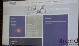 Презентован сайт www.khojalytoday.com, разработанный при поддержке Фонда Гейдара Алиева (ФОТО/ВИДЕО) - Gallery Thumbnail