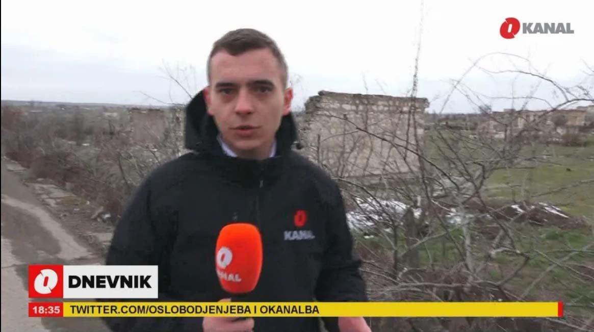 """Şəhərdə gördüyümüz tək şey xarabalıqlar idi - Bosniya """"O Kanal"""" kanalının Ağdamdan REPROTAJI"""