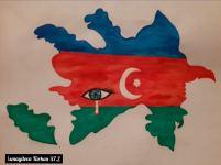 Mingəçevir Dövlət Universitetində Xocalı soyqırımının 29-cu ildönümünə həsr olunan rəsm sərgisi keçirilib (FOTO) - Gallery Thumbnail