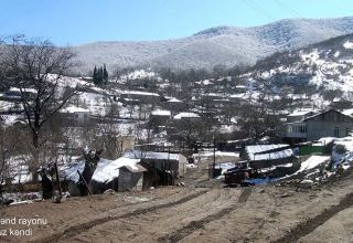 Azerbaijan shares footage of Chiraguz village of Khojavand district (PHOTO/VIDEO)