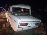 Bərdədə 3 avtomobil toqquşdu, iki nəfər ölüb, yaralılar var (FOTO) - Gallery Thumbnail