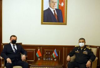 Azerbaijani Defense Minister, Ambassador of Belarus discuss prospects for development of military co-op
