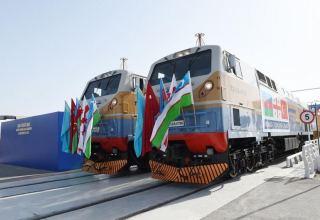 По БТК в Китай отправлен третий экспортный поезд с товарами из Турции