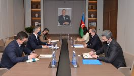 Azerbaijani FM, Uzbek ambassador exchange views on current situation in region (PHOTO) - Gallery Thumbnail