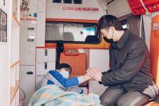 """Фонд """"YAŞAT"""" отправил на лечение в Турцию еще 10 тяжелораненых участников войны (ФОТО) - Gallery Thumbnail"""